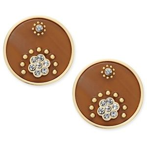 Kate Spade Out Of Her Shell Tortoise earrings